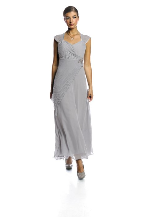 Dress FSU167 LIGHT GREY