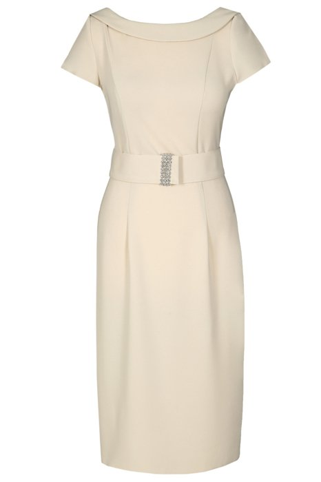 Dress FSU199 BEIGE