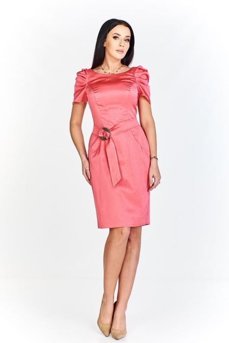 622795dcc8 Dress FSU203 CORAL Sukienka FSU203 KORALOWY