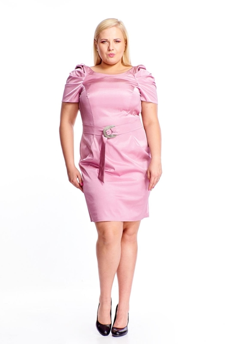 Dress FSU203 LIGHT PINK