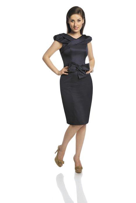 d51ae967784f96 Dress FSU243 NAVY Sukienka FSU243 GRANATOWY | KOBIETA \ Classic Line ...