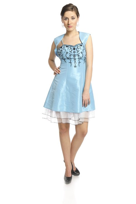 Dress FSU731 TURQUISE