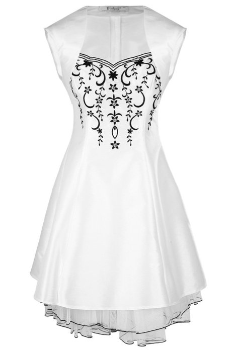 Dress FSU731 WHITE