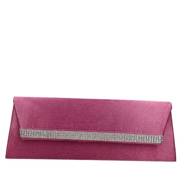 FOKUS FTR219 Clutch DARK AMARANTH