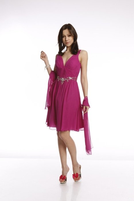 FSU704 Dress DARK AMARANTH
