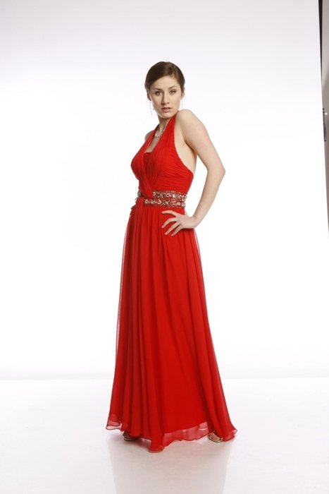 FSU708 Dress RED