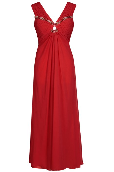 FSU709 Dress RED