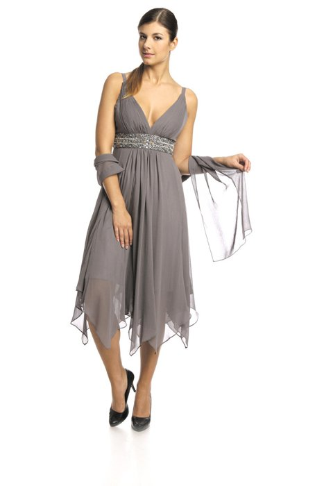 FSU712 Dress GREY
