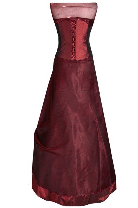 183e70455c Sukienka FSU034 BORDOWY Sukienka FSU034 BORDOWY