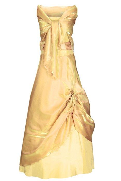 11e157aee1 Sukienka FSU034 ZŁOTY Sukienka FSU034 ZŁOTY