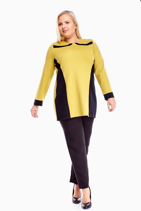 Tunic FTU320 BLACK LIME