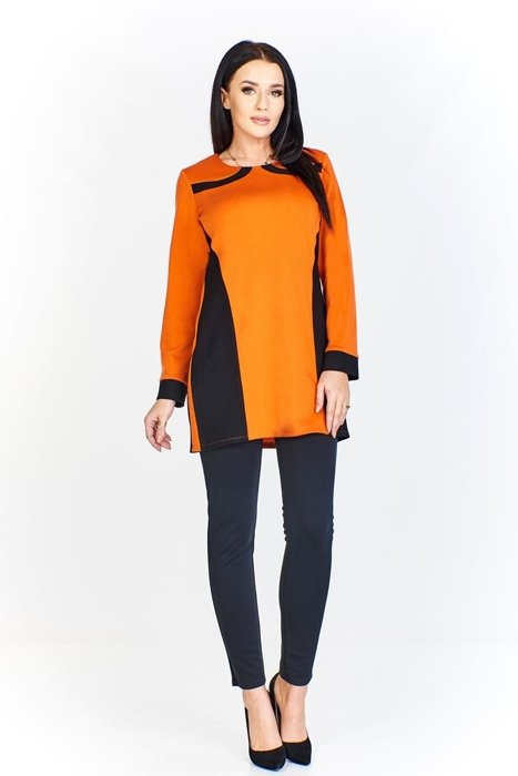 Tunic FTU320 BLACK ORANGE
