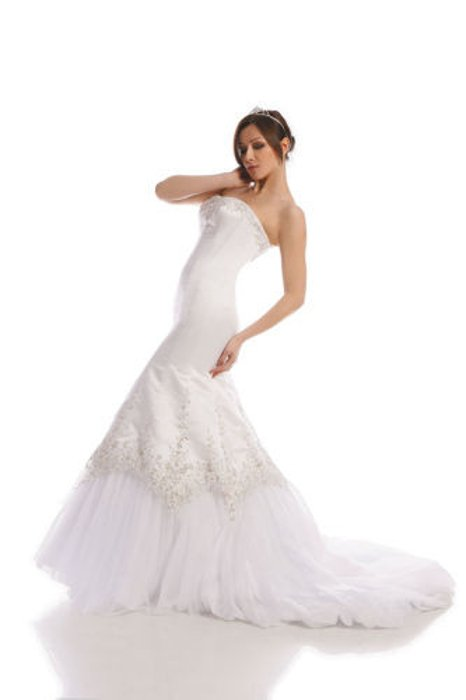 Wedding dress FSS503 WHITE