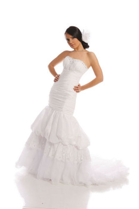 Wedding dress FSS509 WHITE