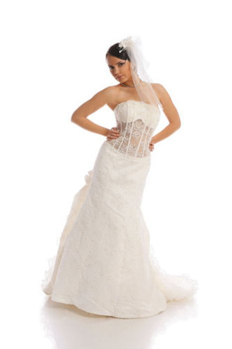 Wedding dress FSS511 IVORY