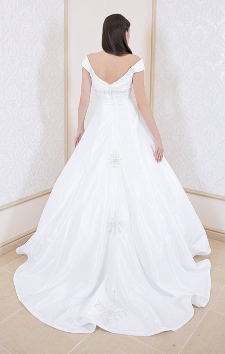 Wedding dress FSS521 WHITE