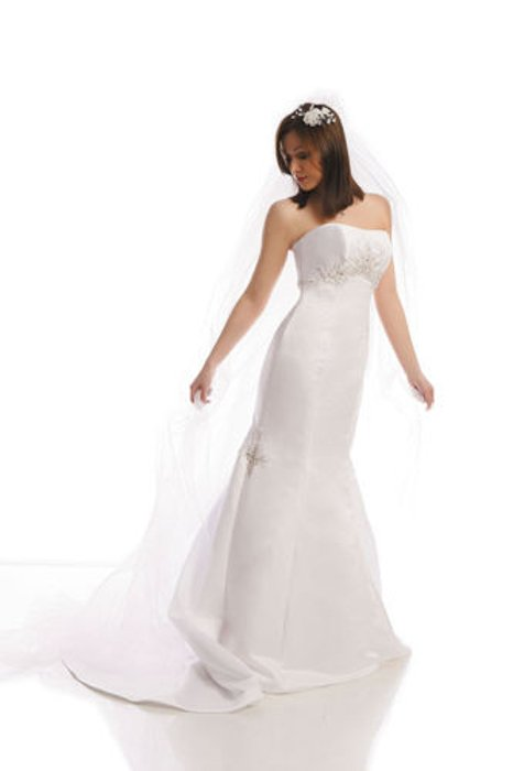 Wedding dress FSS525 WHITE