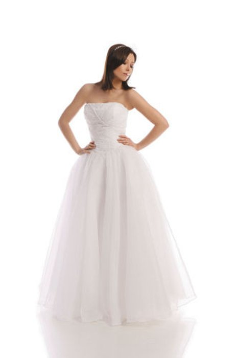 Wedding dress FSS526 WHITE