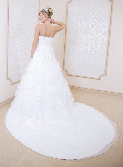 Wedding dress FSS534 WHITE