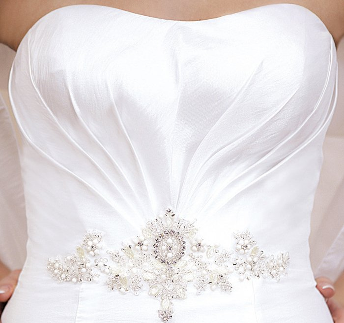 Wedding dress FSS543 WHITE