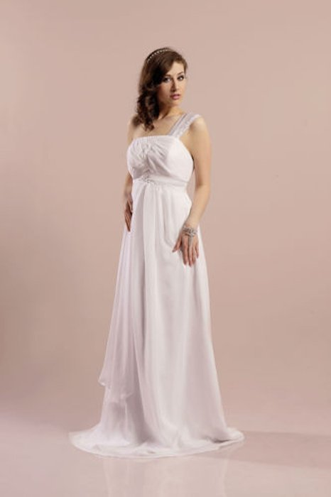 Wedding dress FSS566 WHITE