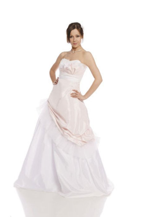 Wedding dress FSS588 ROSE + WHITE