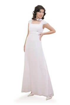 Dress FSU158 WHITE