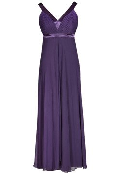 Dress FSU166 DARK PLUM