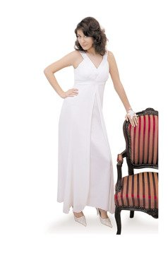 Dress FSU166 WHITE
