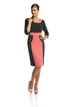 Dress FSU289 BLACK CORAL