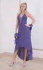FSU719 Dress DARK VIOLET
