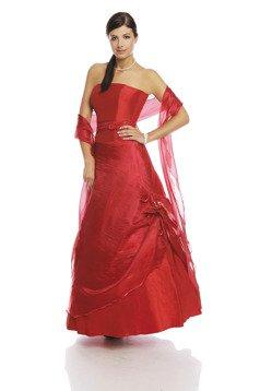 c50605fa21 Sukienka FSU034 CZERWONY Sukienka FSU034 CZERWONY