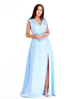 b487c02b Sukienki maxi na wesele, dla puszystych, wizytowe | Fokus.pl