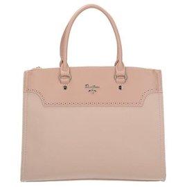 077381eff4 Elegancka torebka damska w kolorze różowym DAVID JONES CM5030