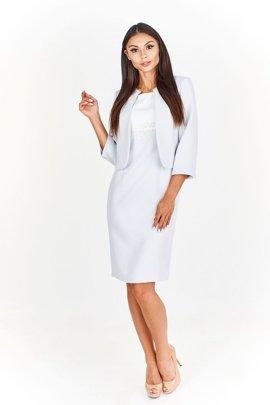 eb6c83a562 Zestaw nowoczesny żakiet i sukienka koktajlowa