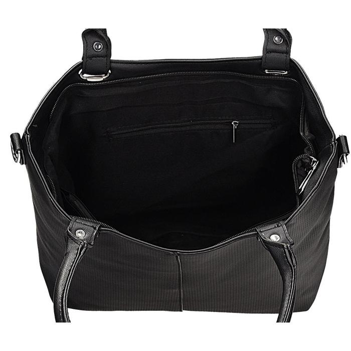 6b4a33b98fce7 Klasyczna torebka damska w kolorze czarnym DANBLINI JK 1223 | Fokus.pl