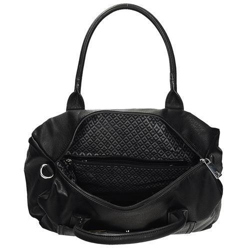 35ead14673bf2 Modna torebka damska w kolorze czarnym z motywem misia LULU CASTAGNETTE  JUDITH