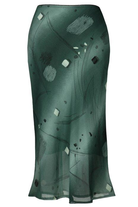 Spódnica FSP771 ZIELONY CIEMNY