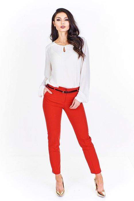 6cbdc85839f28f Spodnie cygaretki Czerwony | Fokus.pl