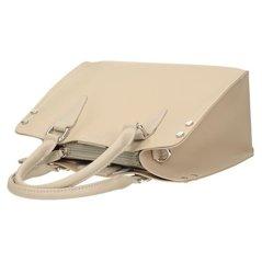 9ad0189597044 Klasyczna beżowa torebka damska DAVID JONES 5953-2
